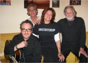 Rosanne Cash Elvis Costello Kris Kristofferson John Leventhal