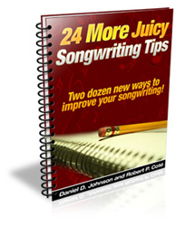 24 More Juicy Songwriting Tips
